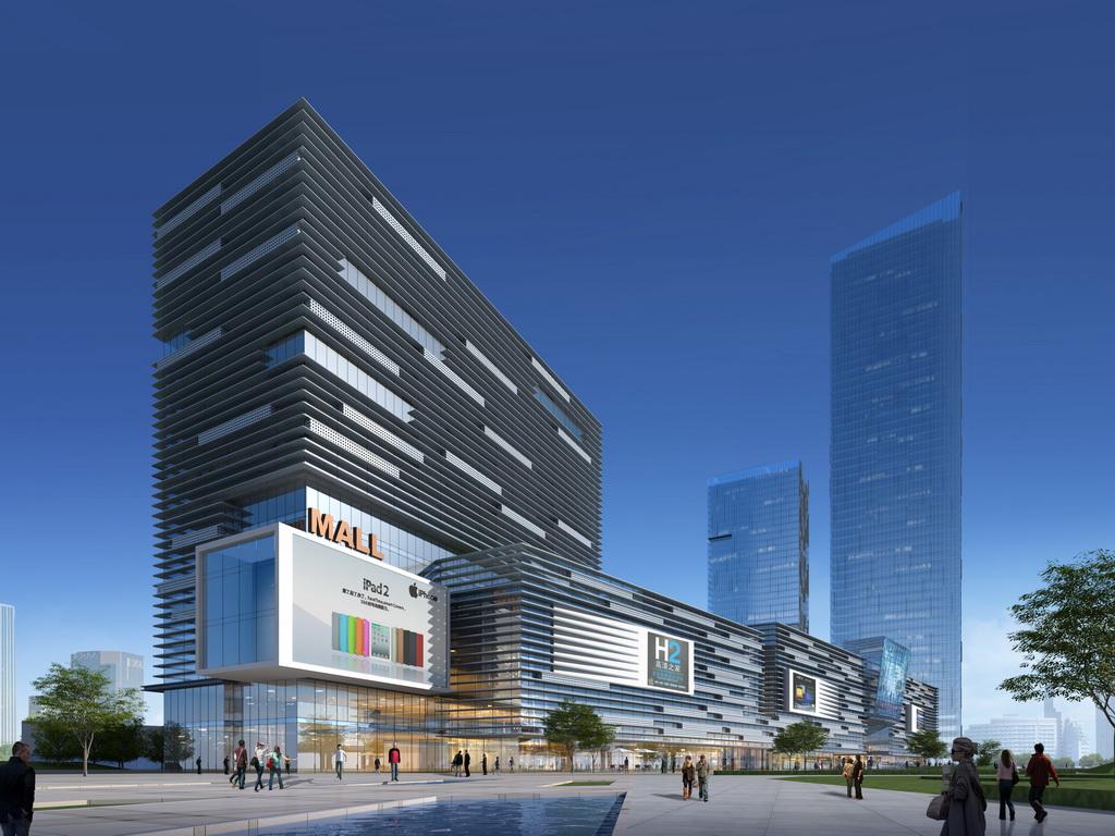 长江都市建筑设计